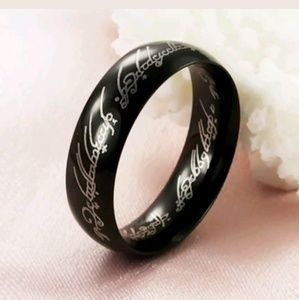 Other - LOTR The One Ring Black Size 12